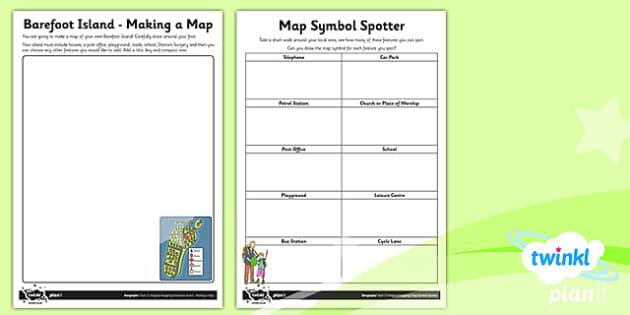 PlanIt - Geography Year 2 - Magical Mapping Unit Home Learning Tasks - maps, planning, geography, year 2, y 2, ks1, key stage 1, plans, lessons, lesson, unit, pack, 2014, curriculum, maps, homework