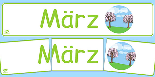 März Display Banner German - german, march, display banner, display, banner