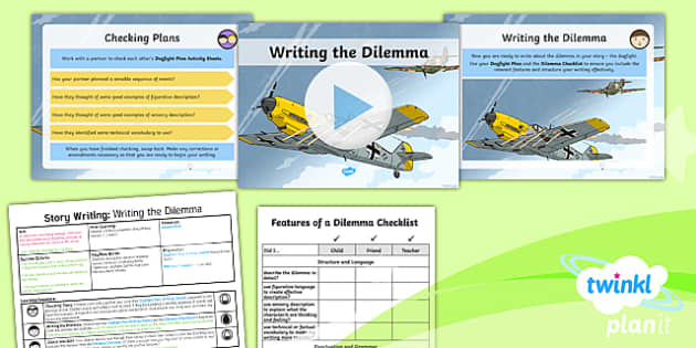 PlanIt Y5 World War II: Battle of Britain Lesson Pack Story Writing (4)