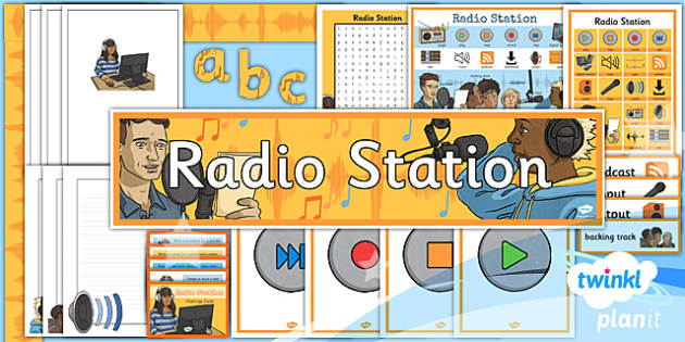 PlanIt - Computing Year 5 - Radio Station Unit Additional Resources - planit, computing