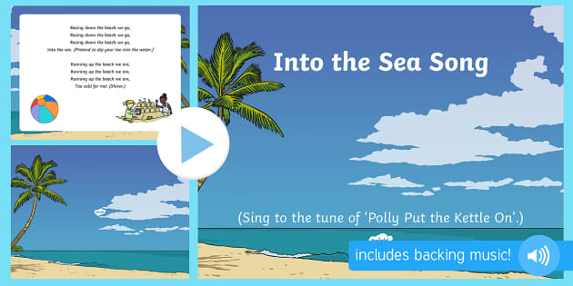 Into The Sea Song PowerPoint