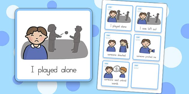 Special Needs Communication Cards Explanations - special needs