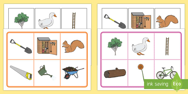 Matching Cards and Board to Support Teaching on Percy the Park Keeper - percy the park keeper, percy the park keeper matching cards, percy the park keeper image matching game