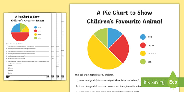 Chart Interpretation Worksheets pie chart chart sheet – Pie Chart Fractions Worksheet