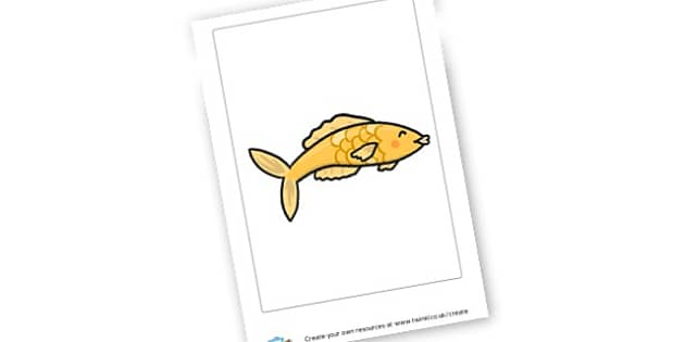 Goldfish Playdough Mat - display lettering - EYFS Activities Playdough Mats Primary Resources - Childminders E