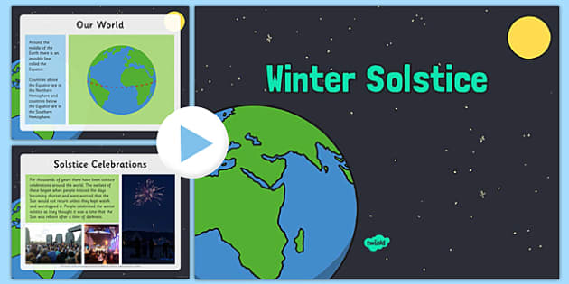 Winter Solstice PowerPoint - winter solstice, powerpoint, winter, solstice