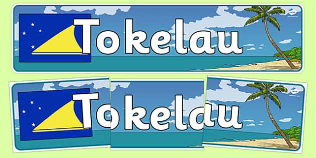 Tokelau Display Banner