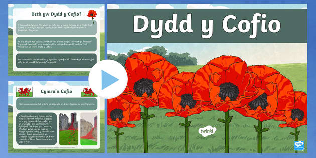 Dydd y Cofio PowerPoint