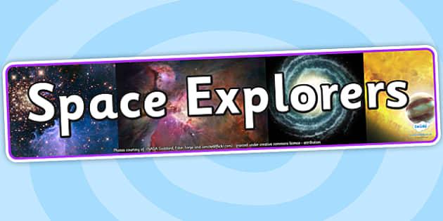 Space Explorers IPC Photo Display Banner - space explorers, IPC display banner, IPC, space explorers display banner, IPC display, space IPC banner