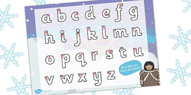 Polar Regions Themed Letter Writing Activity Sheet - polar, letter