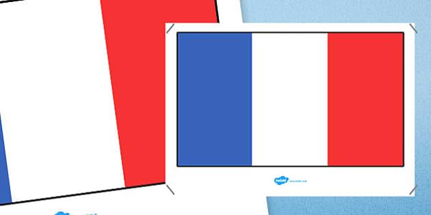 France Flag Display Poster - france flag, france, display poster, flag, display