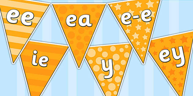ee Sound Family Display Bunting - ee sound, display bunting, ee family display bunting, ee sound display bunting, sound bunting, bunting
