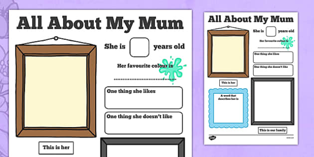 All About My Mum Poster - all about my mum, poster, display poster, display