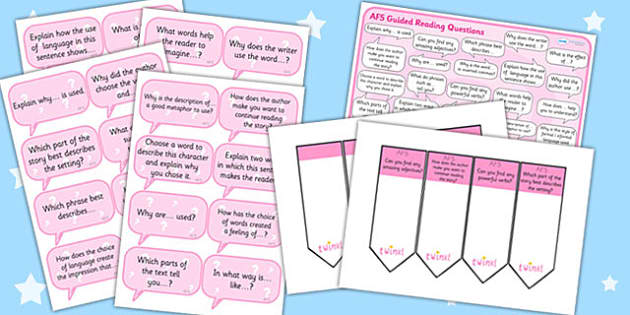 AF5 Guided Reading Resource Pack - AF5, guided reading, reading