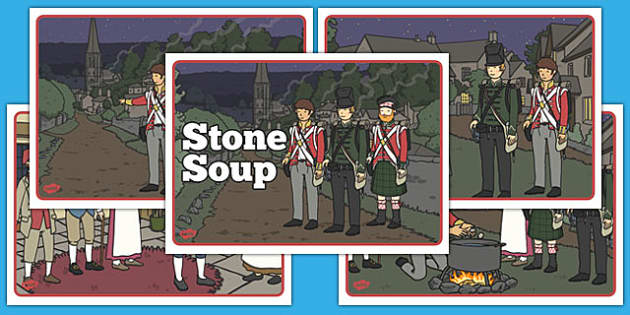 Stone Soup Short Story Sequencing - stone soup, story, sequence