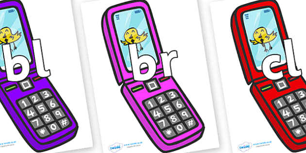 Initial Letter Blends on Mobiles - Initial Letters, initial letter, letter blend, letter blends, consonant, consonants, digraph, trigraph, literacy, alphabet, letters, foundation stage literacy