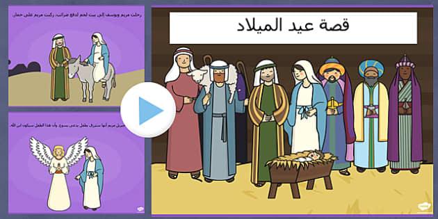 عرض بوربوينت لقصة ميلاد المسيح - ميلاد المسيح