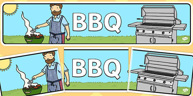 BBQ Banner - bbq, banner, display, display banner, barbeque