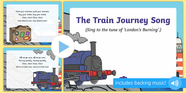 The Train Journey Song PowerPoint