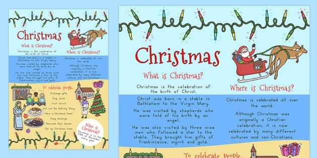 Christmas Where When What Poster A4 - australia, christmas, a4