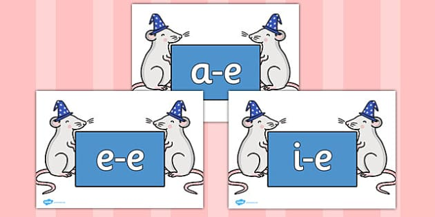 Modifying E Letters on Magic Mice - Modifying E, letters, modify, Phase 5, Phase five, alternative spellings for phonemes, DfES letters and Sounds