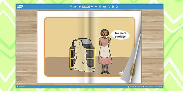 The Magic Porridge Pot eBook - interactive, traditional tales