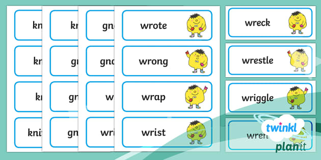 PlanIt English Additional Resources Year 2 Term 1A Spelling Word Cards - Spellings, Year 2, spell, words, list