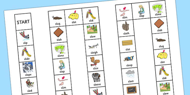 SL Board Game - sen, sound, special educational needs, sl, board game