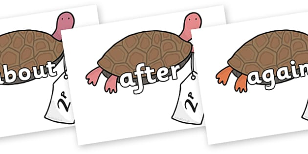 KS1 Keywords on Terrapin to Support Teaching on The Great Pet Sale - KS1, CLL, Communication language and literacy, Display, Key words, high frequency words, foundation stage literacy, DfES Letters and Sounds, Letters and Sounds, spelling