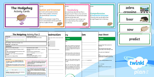 Y3 The Hodgeheg: Activity Plan 2 PlanIt Guided Reading Pack  to Support Teaching on The Hodgeheg - The Hodgeheg, carousel, fiction, hedgehog, guided read, reading text, Dick King Smith
