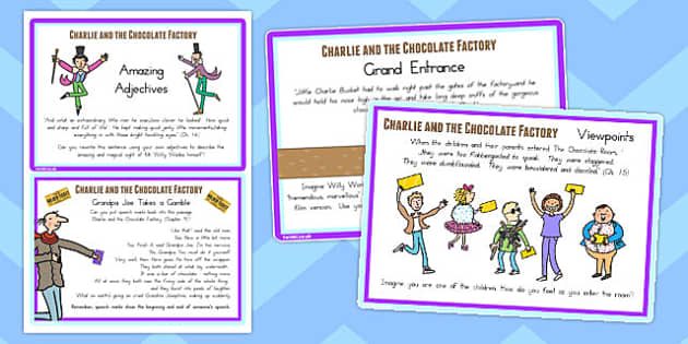 Challenge Cards to Support Teaching on Charlie and the Chocolate Factory - australia
