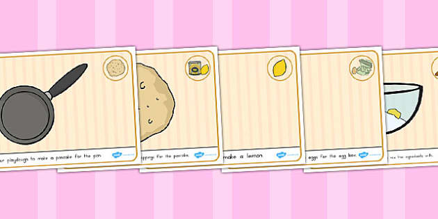 Pancake Playdough Mats - australia, pancake, playdough, mats