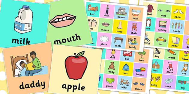 First Words Pictures - first words, pictures, first, words, speak