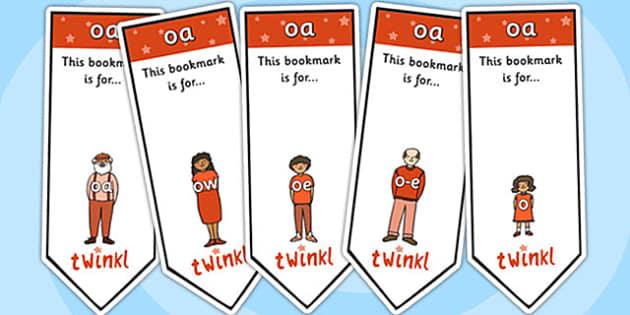 oa Sound Family Editable Bookmarks - oa sound family, editable bookmarks, bookmarks, editable, behaviour management, classroom management, rewards, awards
