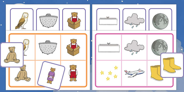 Matching Cards and Board to Support Teaching on Whatever Next! - whatever next, whatever next matching cards, whatever next picture matching activity, sen storybook activities