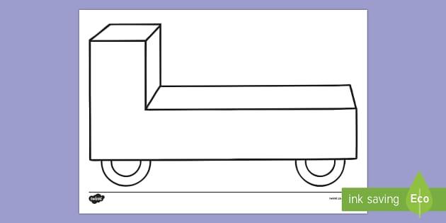 Doodle Draft Parade Float Activity Sheet - ROI, Ireland, doodle, draft, sketch, starter, creative, drawing, art, activity sheet,Irish