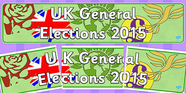 UK General Elections 2015 Display Banner - display, banner, 2015