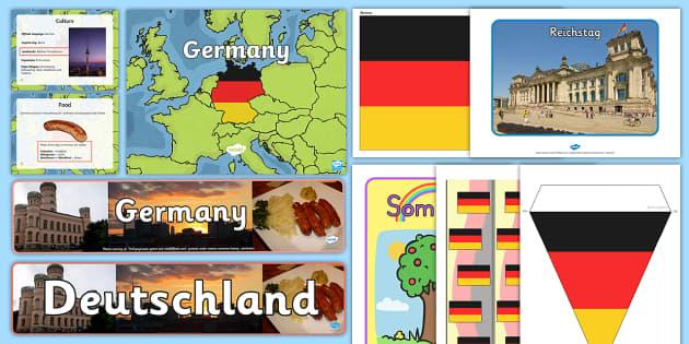 Germany Celebration Resource Pack - International, staff, residents, celebration, culture, the world, diversity, ideas, care homes, elde
