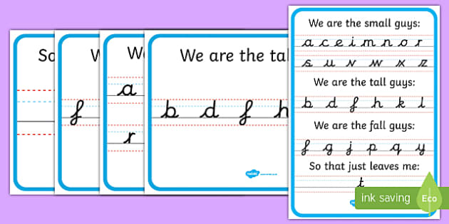 We Are the Guys Letter Formation Posters - we are the guys, letter formation, formation, posters, display