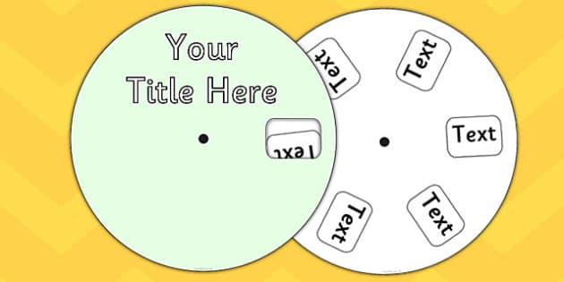 Editable Phonics Wheel - editable, phonics, wheel, phonemes