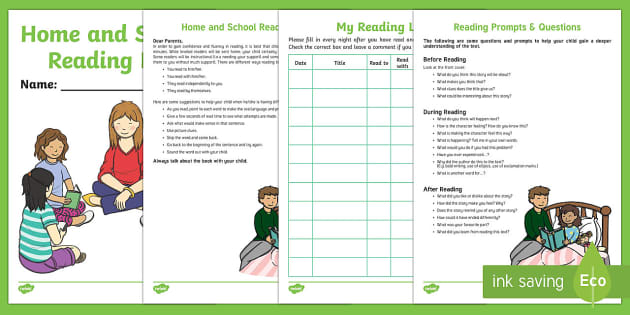 NZ Home   School Reading Log Activity Booklet - New Zealand, Back to School, reading log, home learning, home school connection, homework, home read