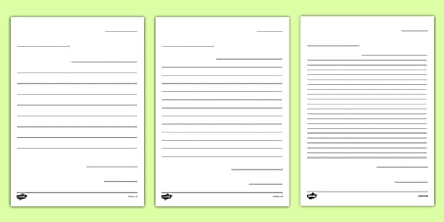 Letter to Future Teacher Writing Template Activity Sheet, worksheet