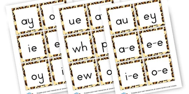 Phase 5 Sounds Flash Cards - Phase 5 Visual aids Primary Resources, Phase One, Letters, sounds