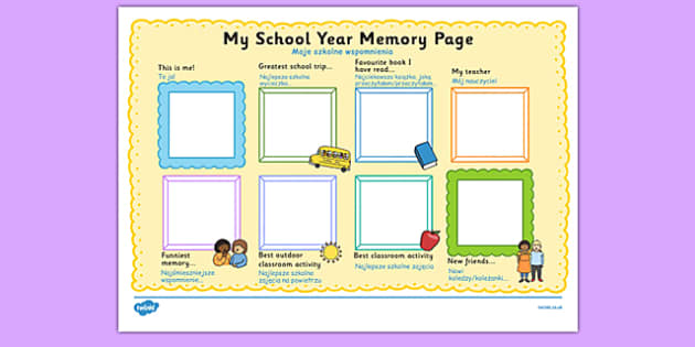 School Year Memory Write Up Polish Translation - polish, school year, memory
