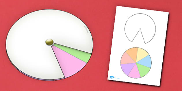 Interactive Notebook Spinner 1 7th - paper craft, visual aid