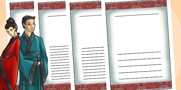 The Shang Dynasty Writing Frames - shang dynsaty, writing, write