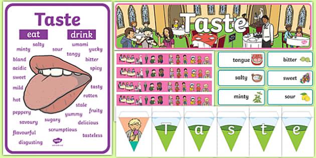 Taste Display Pack