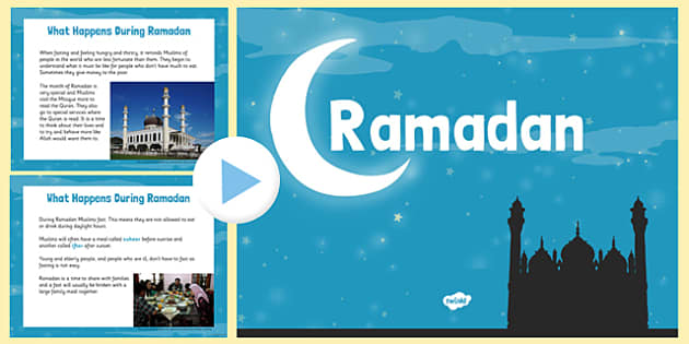 EYFS Ramadan Information PowerPoint - ramadan, information, powerpoint