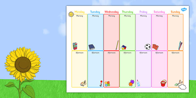 Summer Holiday Activity Template - summer, holiday, activity