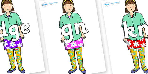 Silent Letters on Sam to Support Teaching on Harry and the Bucketful of Dinosaurs - Silent Letters, silent letter, letter blend, consonant, consonants, digraph, trigraph, A-Z letters, literacy, alphabet, letters, alternative sounds